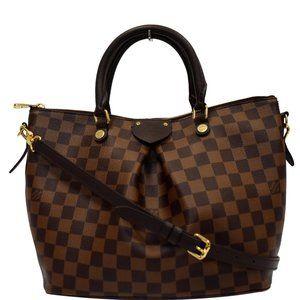 Louis Vuitton Siena Pm Brown Damier Ebene Handbag